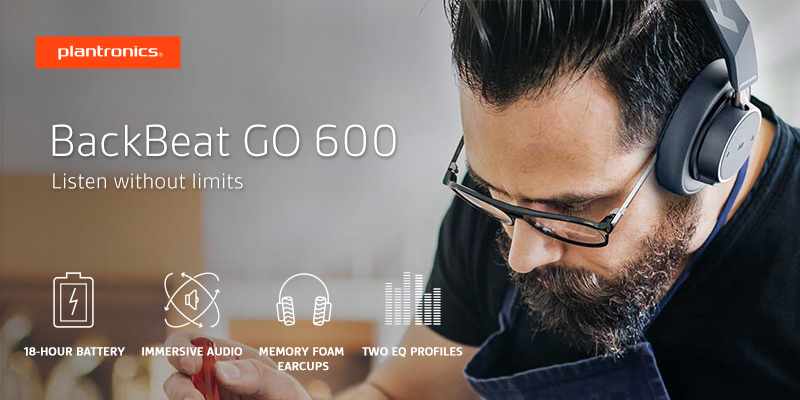 Plantronics BackBeat GO 600 [ Listen without limits ]