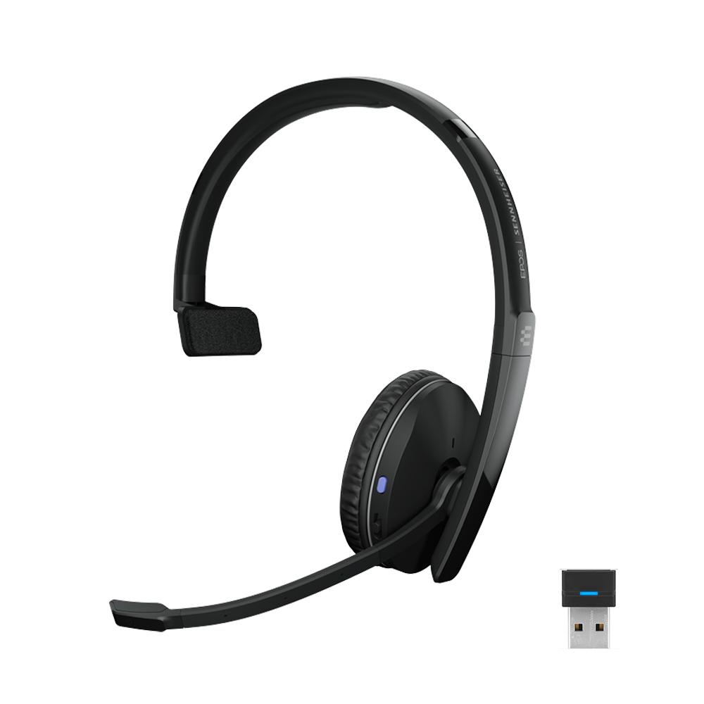 EPOS | SENNHEISER ADAPT 230 MONO BLUETOOTH HEADSET WITH USB-A Dongle
