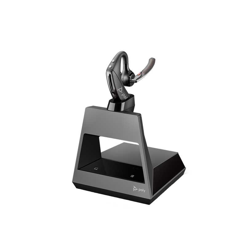 PLANTRONICS VOYAGER 5200 OFFICE, 2-WAY BASE, USB-A